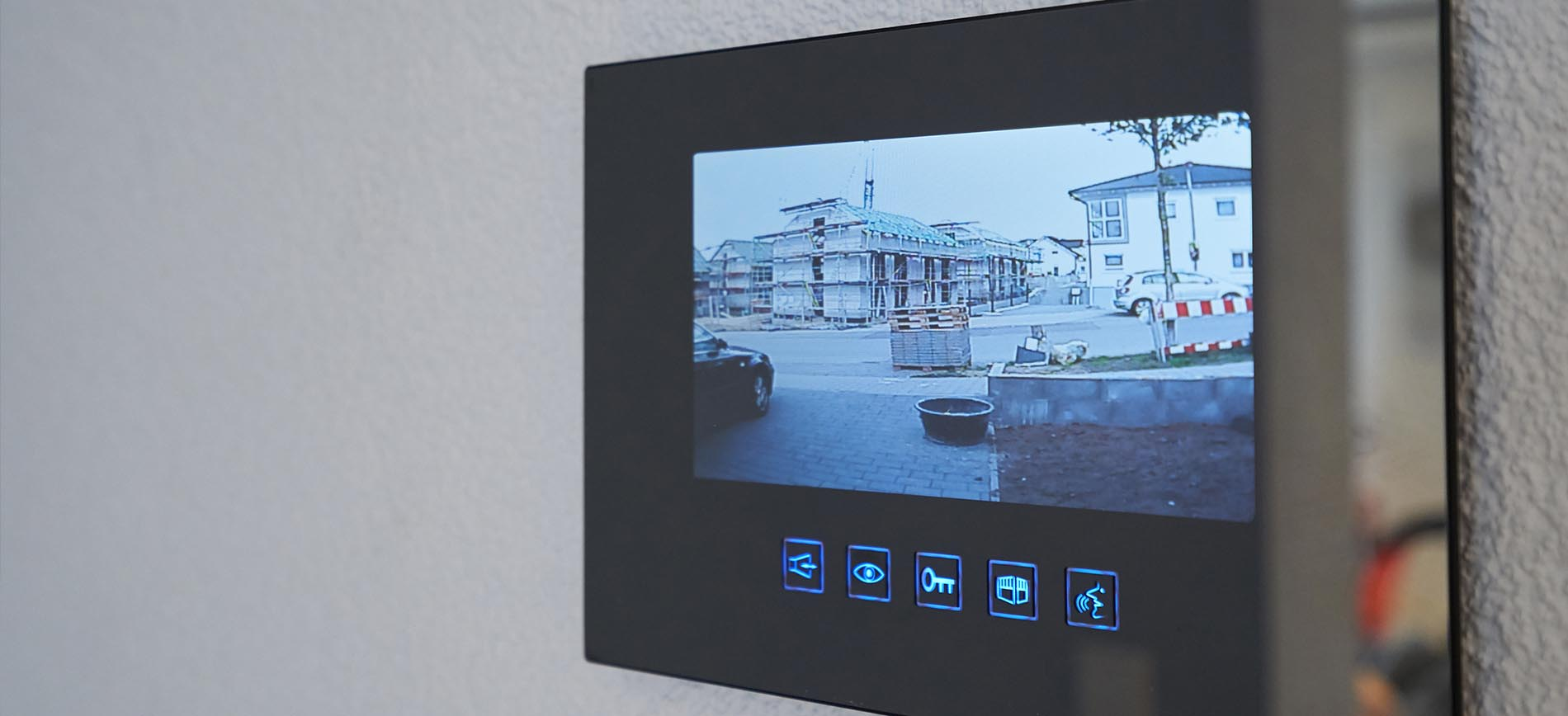Image of a video intercom system
