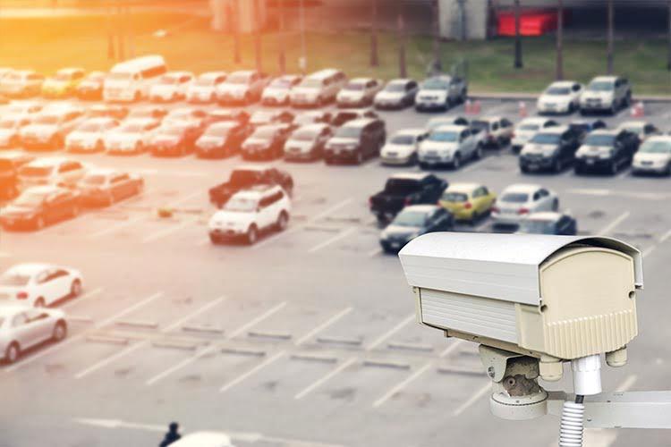 Car Park Secured by CCTV