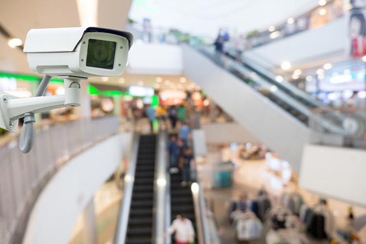 Retail Security CCTV system example