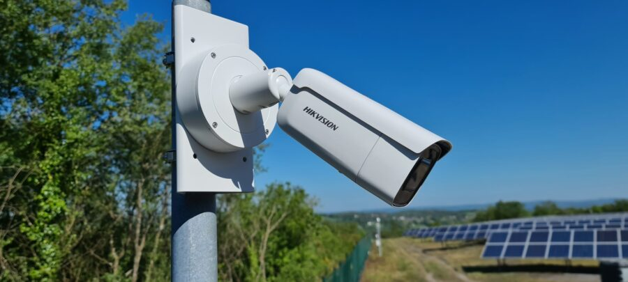 Monitored CCTV Case Stud-Solar-Farm