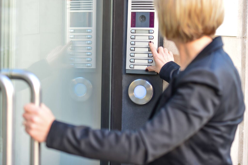 Business door entry system