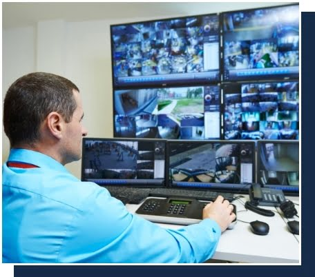 Monitored CCTV