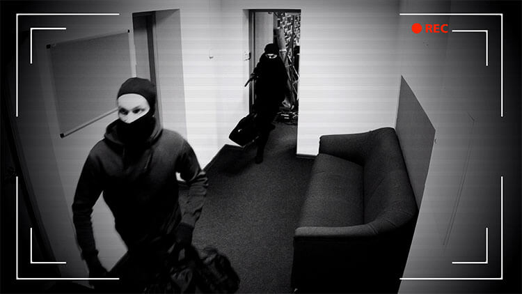 Apartment Block Security Systems footage