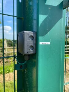 Solar Farm Perimeter Joint Box