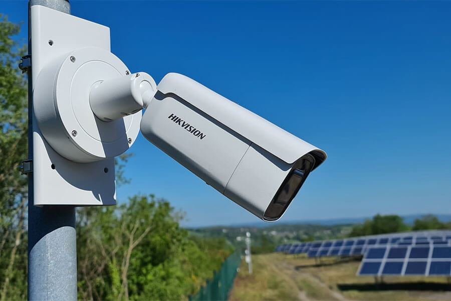 Business IP CCTV systems protecting assets