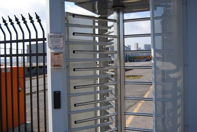 Construction-site-access-control-system
