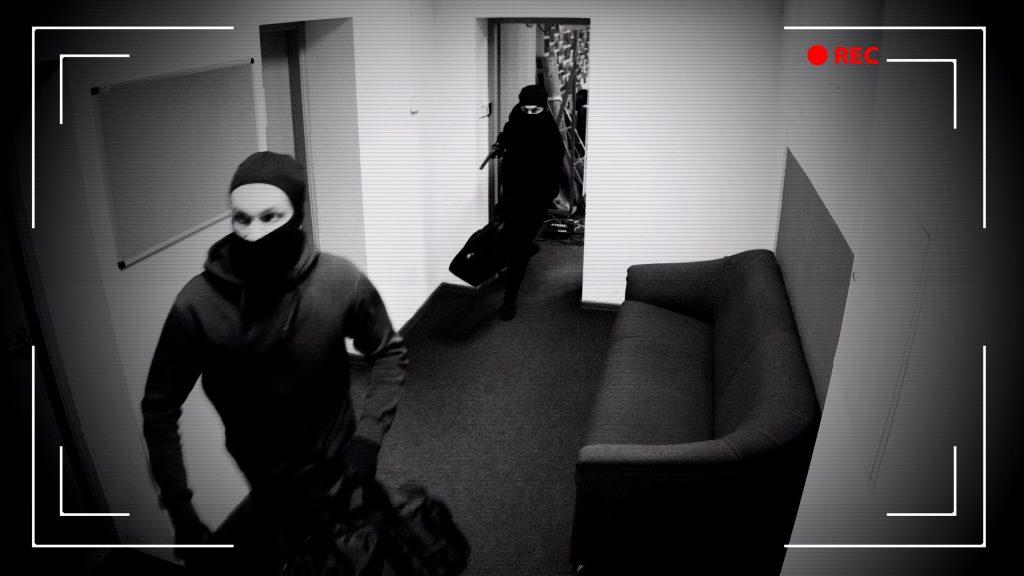 Burglary in a school