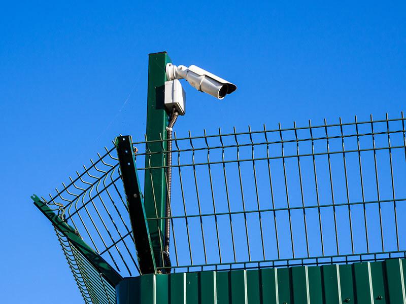 Perimeter detection at a warehouse
